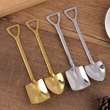 Spoon-Tip Watermelon-Spoon Stainless-Steel Shovel Ice-Cream Flat Creative