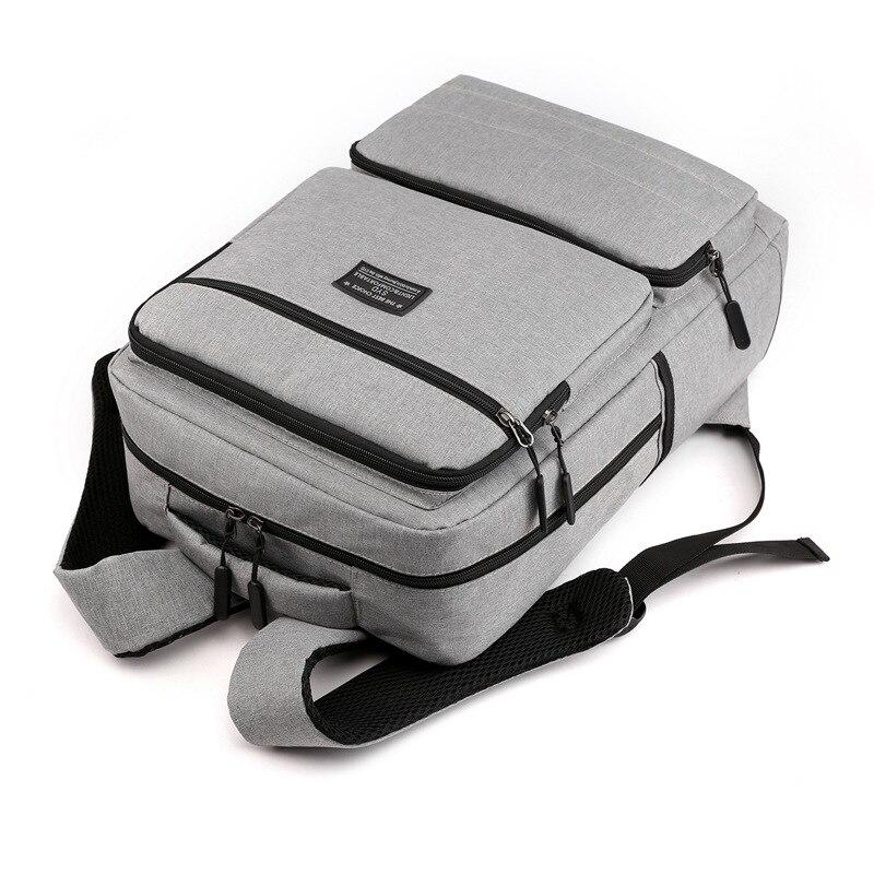 Backpack Men's Travel Luggage Backpack University High School Schoolbag Women's Korean-style Business Computer Bag Customizable