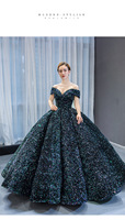2020 new ready to ship size US2 US14 sequined Ball gown Quinceanera Dress 15 years Formal Prom Dance Birthyday