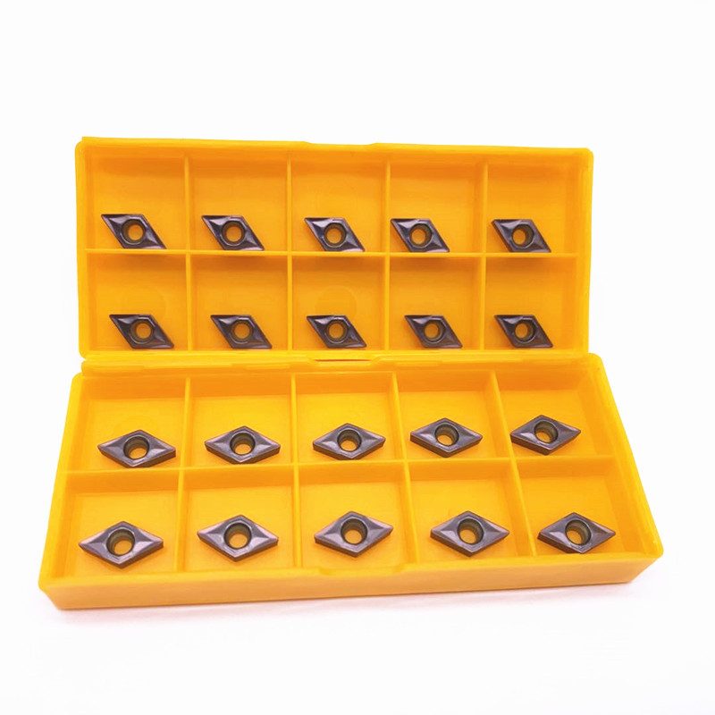 DCMT070204 VP15TF Carbide Inserts Internal Turning Tool DCMT 070204 Face Endmills Lathe Tools Milling Cutter CNC Tool