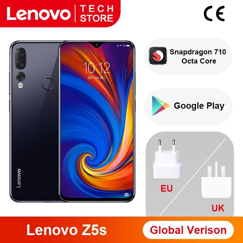 Lenovo Snapdragon 710 Z5s 64GB 4gbb LTE/WCDMA/GSM Quick Charge 3.0 5g wi-fi/Game turbogpu turbo/Bluetooth 5.0