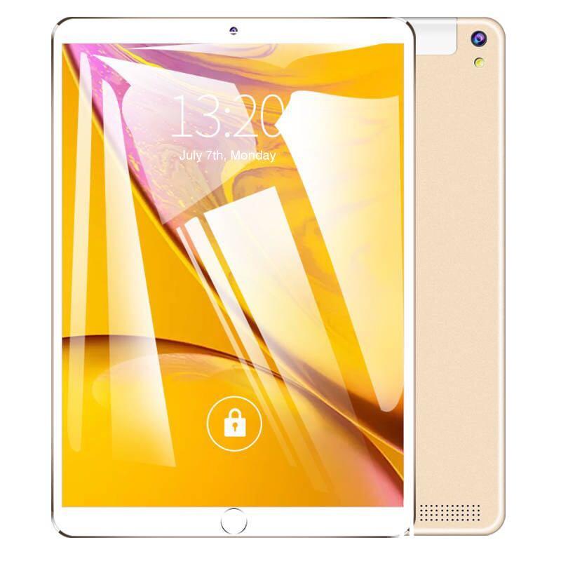 Free Return 10.1 Inch Tablet Pc Quad Core 2019 Android Tablet 4GB RAM 64GB ROM IPS Dual SIM Phone Call Tab Phone Tablets Gold