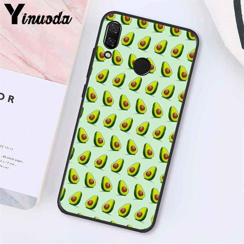 Yinuoda アボカド美的 gteen フルーツ食品電話ケース xiaomi redmi 注 7 8 t redmi 5 プラス 6A Note8 4X Note8Pro