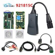 Lexia 3 PP2000 Pieno di Chip Diagbox V7.83 con Firmware 921815C Lexia3 V48/V25 Per Citroen per Pe ugeot OBDII diagnostico strumento
