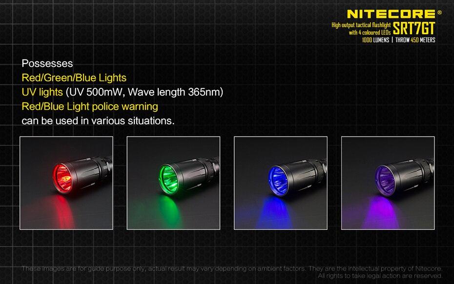 4 cor fonte de luz 7 modos