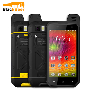 MOSTHINK B6000 4G LTE Cellphone Zello PTT Walkie Talkie Octa Core IP68 Waterproof Smartphone 4GB+64GB 5000mAh NFC Android 6.0 - discount item  25% OFF Mobile Phones
