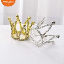 1 шт. мини-корона Топпер для торта свадебный торт украшения Топпер для торта «С Днем Рождения» корона украшения вечерние Роскошные товары для дня рождения