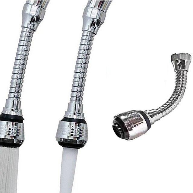 Grifo Flexible, rociador Turbo Flex 360, grifo de fregadero, rociador Universal de chorro, tubo de doble salida, grifos de Boquilla pequeña, herramientas de cocina