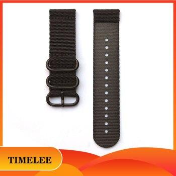24mm Double-layer  Weave Nylon watchband suunto 9 Traverse series nylon Watch belt smart Watch Straps Accessories