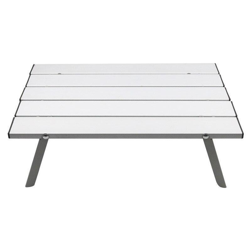 Outdoor Portable Aluminum Alloy Table Foldable Garden Table Camping Hiking Desk Traveling Outdoor Furniture Picnic mesa plegable