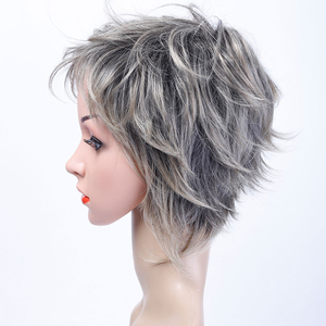 Image 5 - MUMUPI synthetic  Short curly wig hair extension pixie Cut Wig for Women High Temperature Fiber Wig Fashion Lady Wig