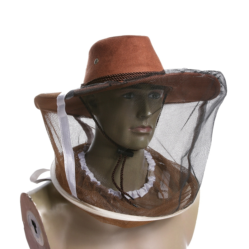 Anti bite Beekeeping Hat Mosquito Bee Insect Net Veil Hat Face Head Neck Wrap Protector Beekeeping ToolsGM|Beekeeping Tools|Home & Garden - title=