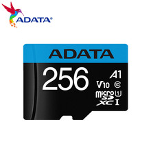 ADATA 256GB Memory Card Premier microSDXC Card With Adapter USH-I C10 Micro SD Card TF Card Up to 98MB/s Flash Card for Phone