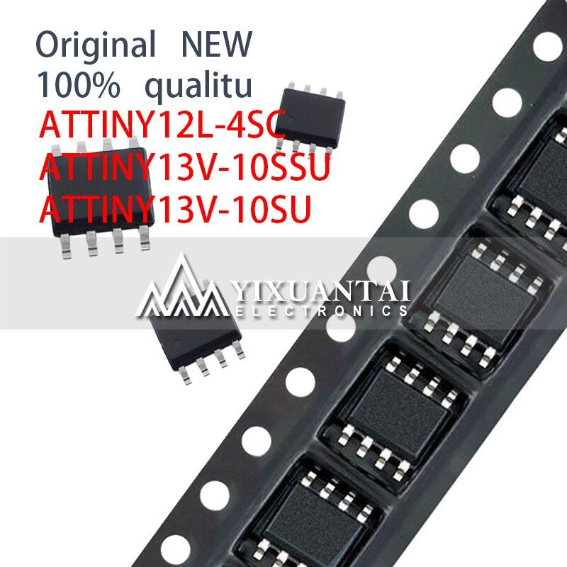 10pcs 100% NEW SOP8 SMD ATTINY12L-4SC ATTINY13V-10SSU ATTINY13V-10SU ATTINY12 ATTINY13 INY12 INY13 SOIC-8