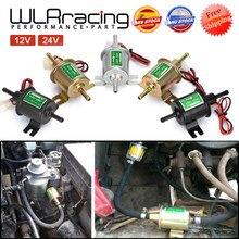 12V 24V pompe à essence électrique basse pression boulon fixation fil Diesel essence HEP-02A pour voiture carburateur moto ATV