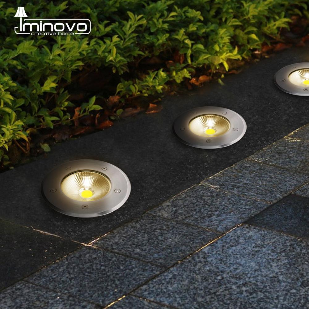 LED Underground Light 5W 10W COB Floor Lamp Outdoor Ground Garden Square Path Buried Yard Spot Landscape 110V220V DC12V 24V IP68