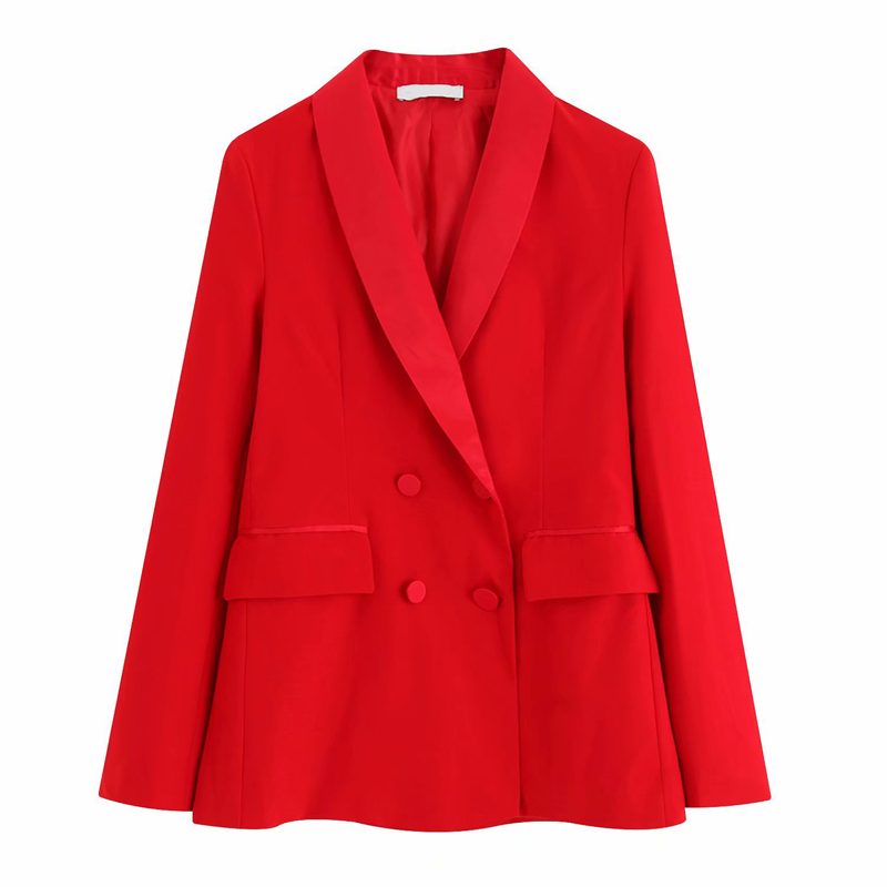 Red Women Blazer Suits Jacket Fashion Ladies Pantsuit Costumes Womens Suits Blazer with Pants for Party Groom Custom Made