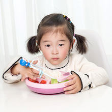 лучшая цена Baby Bowls Plate Tableware Children Food Container Placemat Dishes Infant Feeding Cup Child Silicone Kids Feed Plate