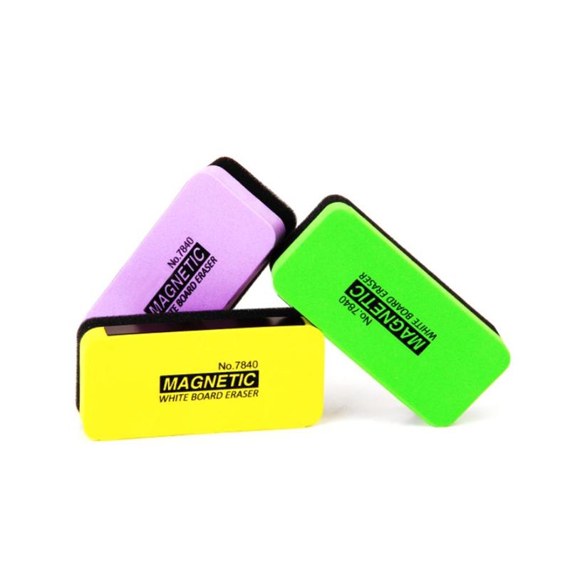 5pcs Color Blackboard Eraser Magnetic Whiteboard Eraser Whiteboard Creative Whiteboard Eraser Green Eraser