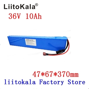 Image 2 - LiitoKala 36V 10Ah 42V 18650 Strip lithium ion battery pack with 20A BMS For ebike electric car bicycle motor scooter 600Watt