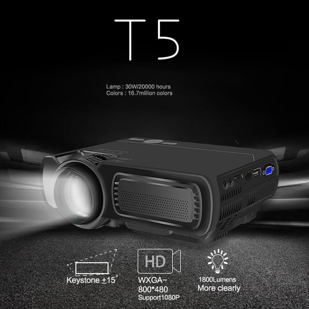 VIVICINE новейший светодиодный мини проектор V20, дополнительный Android 7,1 Bluetooth, поддержка 4K Wi Fi HDMI USB lcd Проектор для домашнего кинотеатра - 3