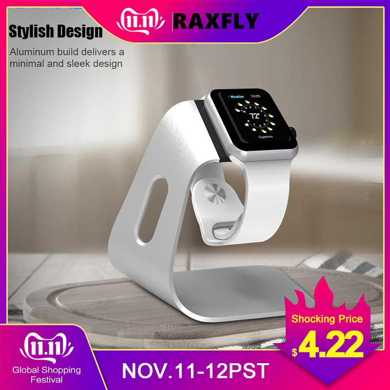 Soporte de cargador RAXFLY Multi Charging Dock Station Docking Station Cargador подставка para apple watch Carga Smart Watch Bracket Holder
