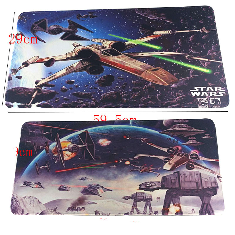 Star Wars Mousepad Gaming Mouse Pad Toy Mat Game Computer Desk Padmouse Keyboard Large Play Mats Mouse Mats Toys For PC image