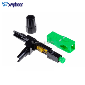 Image 5 - Livraison gratuite SC APC connecteur rapide intégré connecteur FTTH outil froid fibre connecteur rapide SC connecteur à fibres optiques