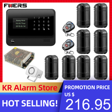 FUERS 2019 NEW 3G G90B Wireless WiFi GSM GPRS Security Alarm System Can Store six Alarm Call Phone two Alarm SMS App Control