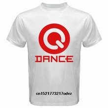 Men T shirt New Q-DANCE The Sound of Q Electro House Music White funny t-shirt novelty tshirt women(China)