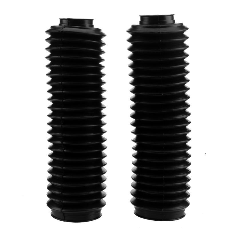 2Pcs 37mm Universal Motorcycle Front Fork Cover Gaiters Boot Shock Protector Dust Guard For Off Road Dirt Bike Motocross