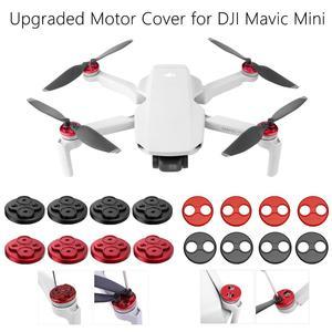 Image 1 - 4PCS Upgraded Motor Cover for DJI Mavic Mini Dustproof Waterproof Motor Protector Motor Caps for Mavic Mini Accessories