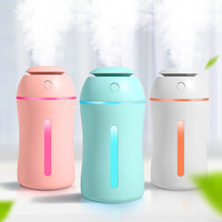 2020 Ultrasonic Mini Humidifier 180ML Aroma Essential Oil Diffuser For Home Car Office Usb With Led night Lamp Oversized Sprayer