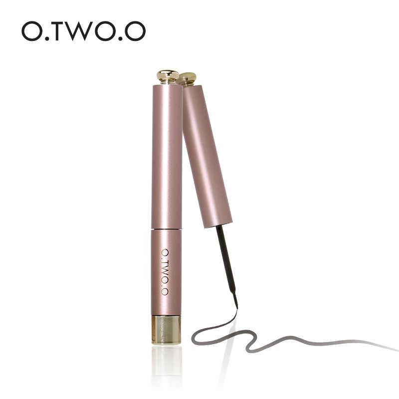 Delineador de ojos de mujer con brillo Líquido Color oro rosa plateado estilo de gato de belleza de larga duración resistente al agua TSLM2