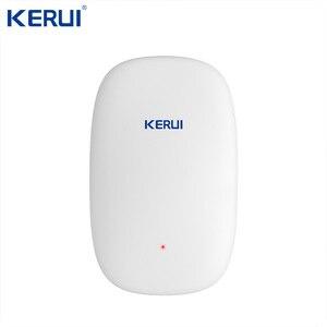 Image 2 - KERUI W2 Wifi GSM PSTN الهاتف الثابت الرئيسية إنذار التطبيق ISO 433MHz TFT شاشة تتفاعل نزع سلاح مكرر إشارة صفارات الإنذار الشمسية