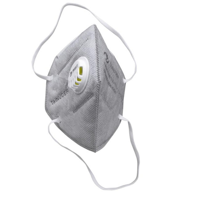 Reusable KN95 Mask - Valved Face Mask N95 Protection Face Mask FFP1 FFP2 FFP3 Mouth Cover Pm2.5 Dust Masks 6 Layers Filter 5
