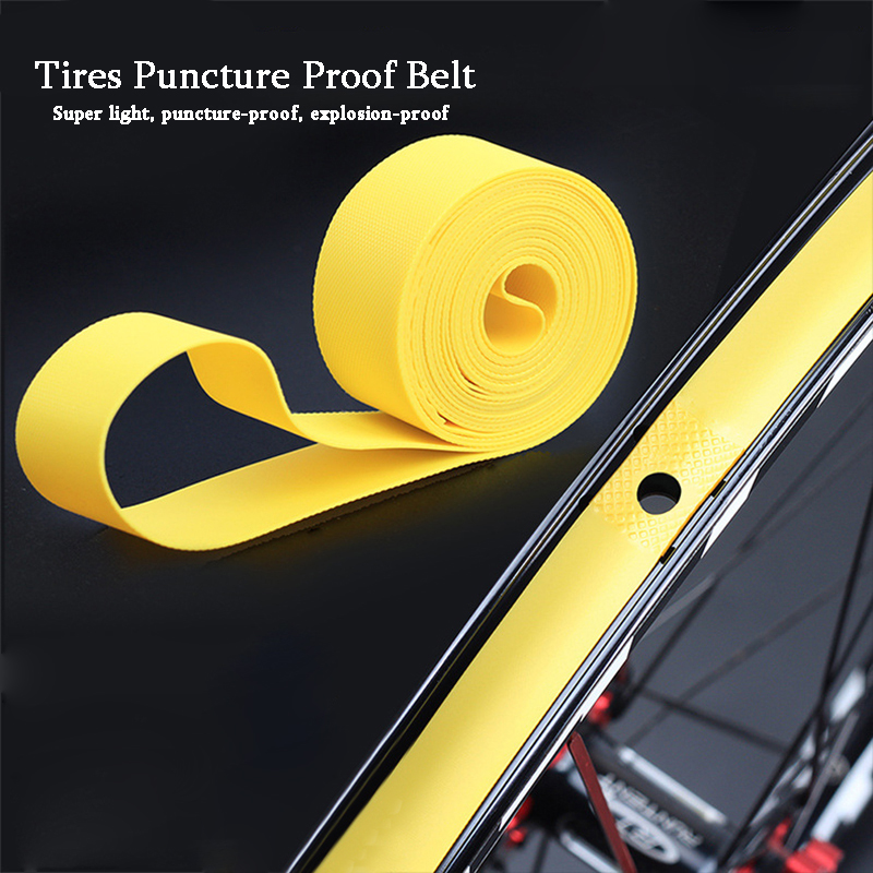 2Pcs Mountain Bike MTB Tires Puncture Proof Belt <font><b>26</b></font> / 27.5 / 29 inch Road Bicycle 700C Tyre Tube Liner Protection Pad image