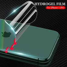 Устойчивая к царапинам задняя пленка для iPhone 11 Pro Max X XR XS задняя наклейка для iPhone 11Pro X XR XS Max Гидрогелевая мягкая пленка не стекло