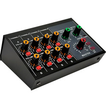 Mixing Console Professional 8-Channel Portable Mixer Lower Noise with Reverb Effect for Home Karaoke Live Stage MIX-428(EU Plug)