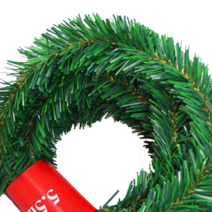 Image 4 - 5.5 متر حفلة احتفالية الروطان اكليلا من الزهور عيد الميلاد الديكور جارلاند حفلة عيد الميلاد قطرة زخرفة 2021 زينة عيد الميلاد للمنزل