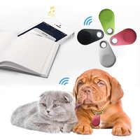 Pet Smart GPS Tracker Mini Anti-Lost Waterproof Bluetooth Locator Tracker For Pet Dog Cat Kids Car Wallet Key Collar Accessories