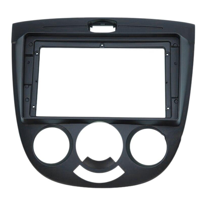 9 Inch Car Audio Frame GPS Navigation Fascia Panel Car Dvd Frame Fascia for Chevrolet Optra Buick Excelle