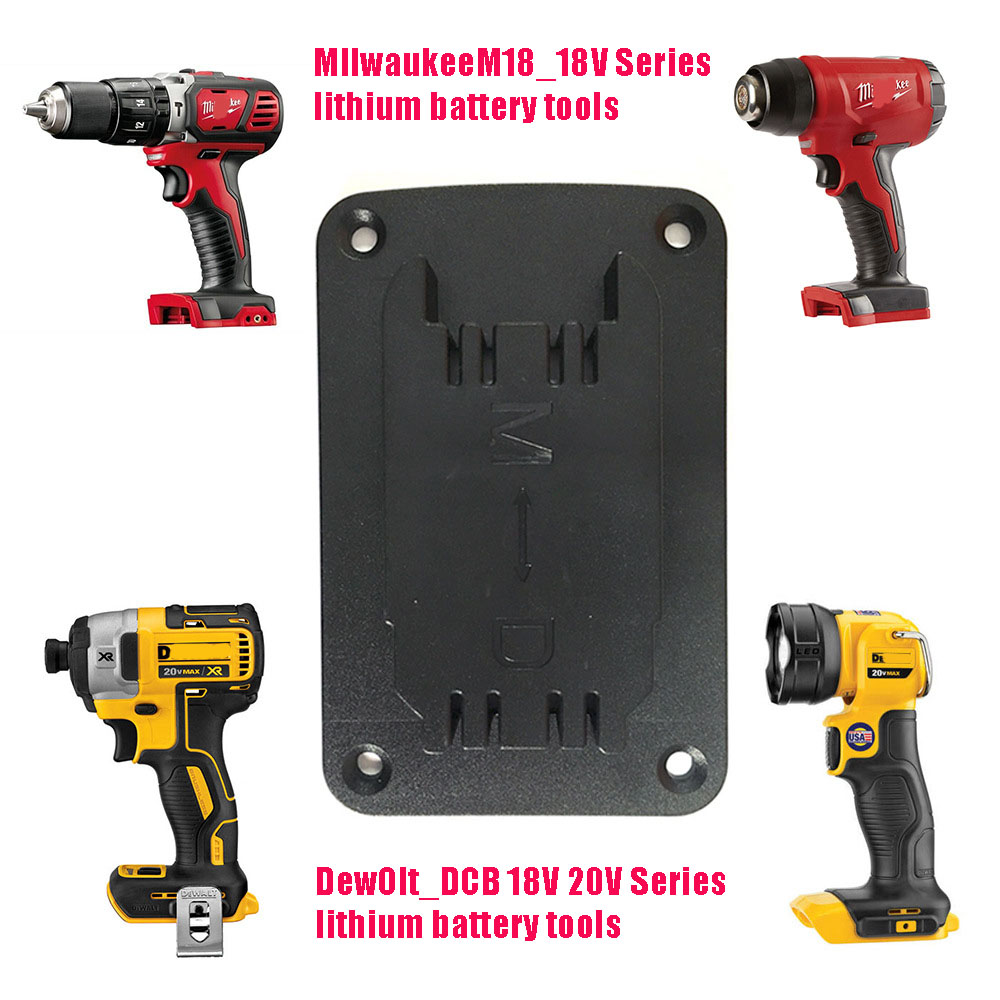 Ultimate Sale³Base-Display-Rack Milwaukee Storage Electric-Tools for 18v/20v M18 Lithium-Battery-Tool