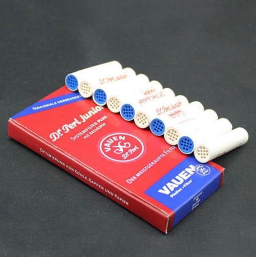 100 шт. фильтры для табачных труб 9 мм, курительная трубка, фильтр с активированным углем для воена