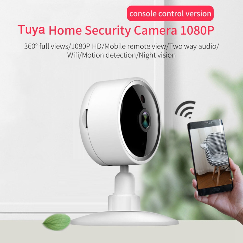 Wireless Smart Wifi Ip Camera Smart Life 1080P Wireless Wifi P2P Security Ip Camera Baby Monitor Works Motion Alarm