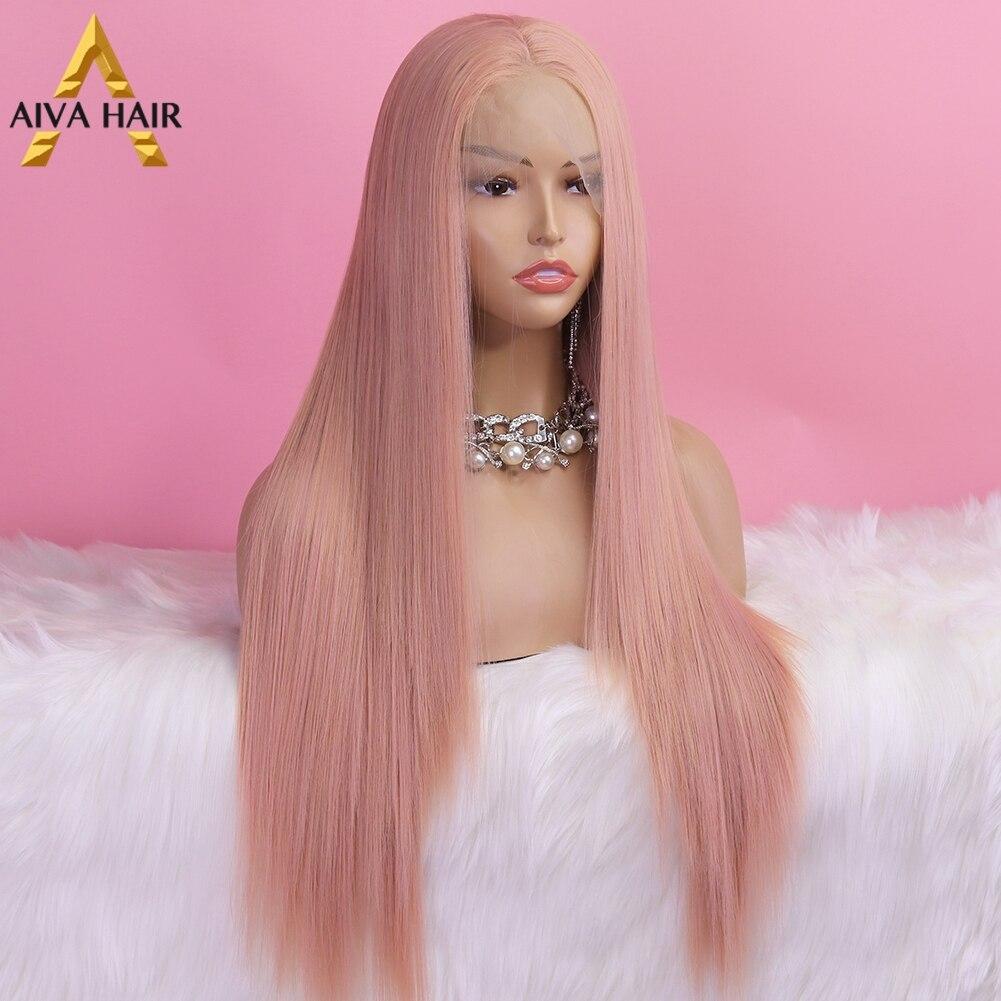 Aiva cabelo de fibra alta temperatura peruca