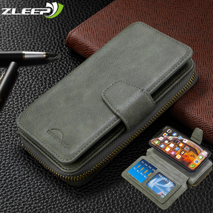 Image 1 - กระเป๋าสตางค์สำหรับ Xiaomi 9T CC9 Note10 Redmi 7 8 7A 8A K20 หมายเหตุ 9 8T 9S 8 7 Pro หนัง ETUI การ์ดแม่เหล็กฝาครอบโทรศัพท์