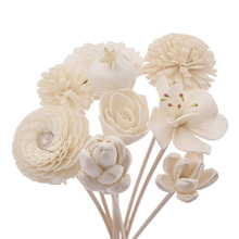 Reed-Diffuser Replacement-Sticks Rattan Bathroom-Decoration Flower-Shape No-Fire-Aromatherapy