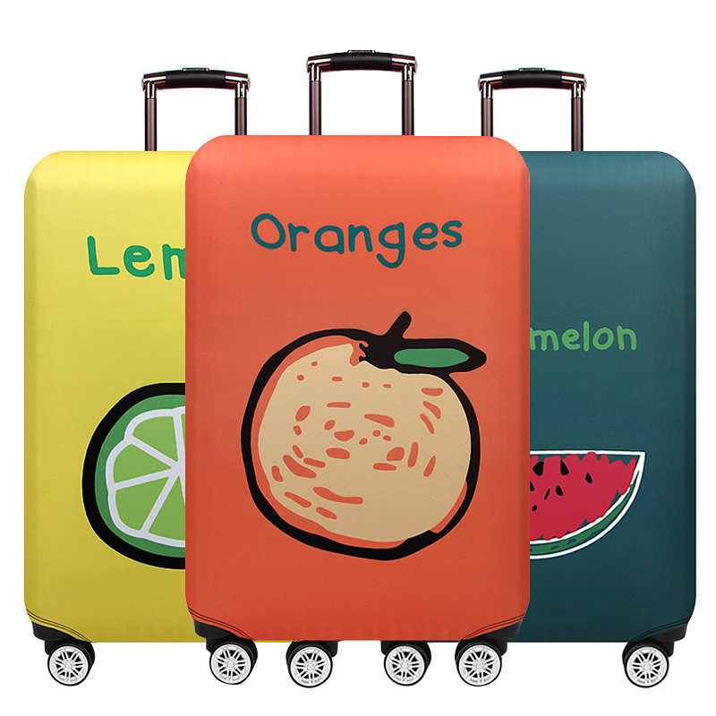 New Thicken Luggage Cover Suitcase Dust Overcover Elasticity Luggage Protective Covers For 18-32 Inch Travel Accessories Items