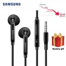 סמסונג EG920 Wired אוזניות עם 3.5mm ב אוזן תקע רמקול מיקרופון אוזניות תמיכת אנדרואיד IOS עבור Xiaomi Huawei סמסונג